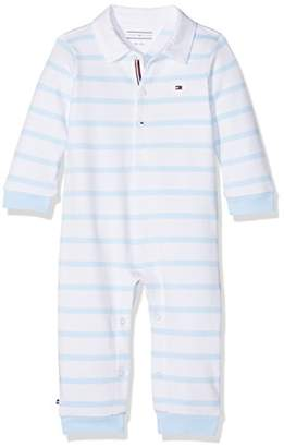 Tommy Hilfiger Baby Peppy Stripe Rugby Coverall L/s Footies
