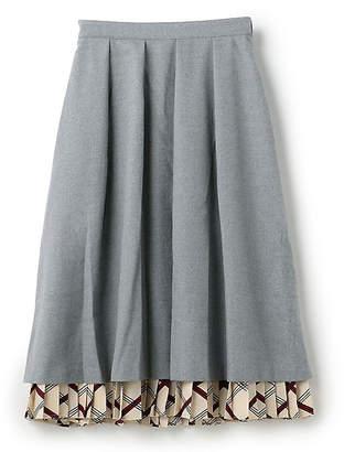 A. T (エー ティー) - エーティー 重ね着風スカート
