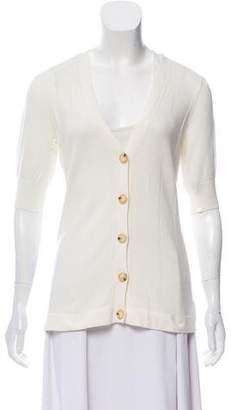 MICHAEL Michael Kors Cashmere Short Sleeve Cardigan