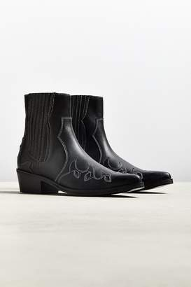 Urban Outfitters Patterned Western Boot
