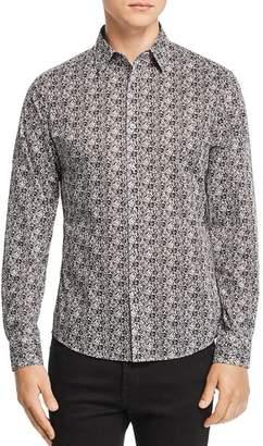 Michael Kors Liberty London Bevin Rose-Print Slim Fit Shirt