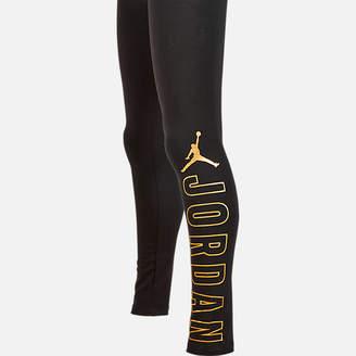 Nike Girls' Jordan Shine Stretch Jersey Leggings