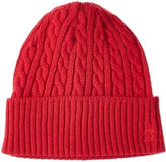 Munsingwear (マンシングウェア) - (マンシングウェア) Munsingwear(マンシングウェア) ニットキャップ JALK310 R418(レッド) F(55-59cm)