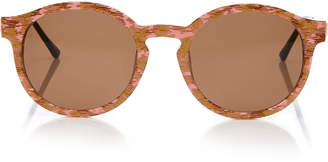 Thierry Lasry Silently Round Acetate Sunglasses