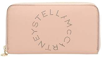 Stella McCartney Lettering Zip Wallet