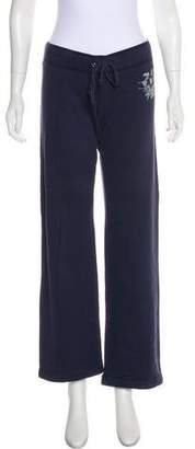 Juicy Couture Low-Rise Wide-Leg Sweatpants