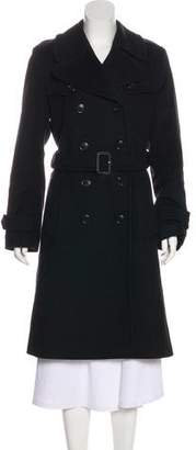 Burberry Wool & Cashmere-Blend Long Coat