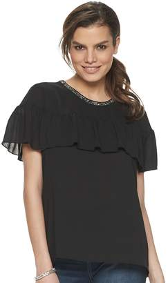 Juicy Couture Women's Ruffle Layer Top
