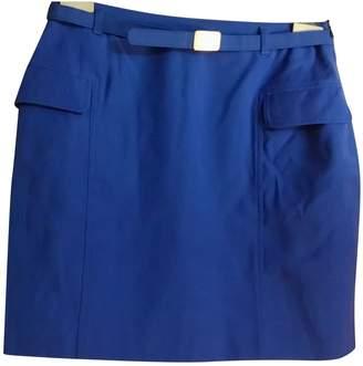 Versus Blue Wool Skirt for Women