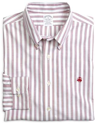 Brooks Brothers Non-Iron Slim Fit Framed Stripe Sport Shirt