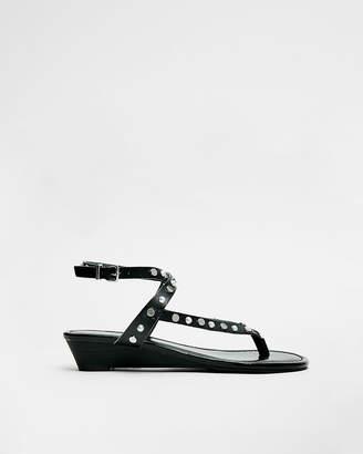 Express Slim Wedge Sandals
