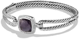 David Yurman Albion Bracelet with Black Orchid and Diamonds