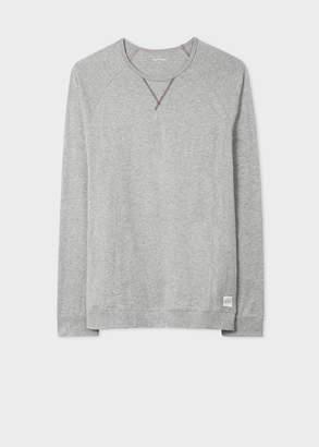 Paul Smith Men's Light Grey Jersey Cotton Long-Sleeve Top