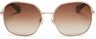 kate spade new york Carlisa Oversized Square Sunglasses, 59mm $160 thestylecure.com