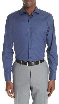 Canali Regular Fit Dot Dress Shirt