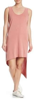 Splendid Strappy Back Asymmetrical High/Low Tank Dress