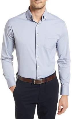 Peter Millar Bernie Woven Long-Sleeve Shirt