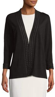 Calvin Klein Illusion-Trim Cardigan