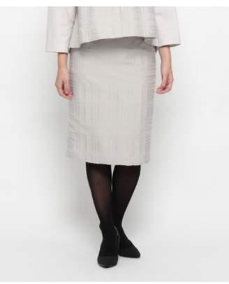 modify (モディファイ) - モディファイ リングチェックタイトスカート