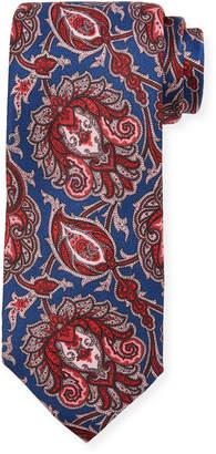 Neiman Marcus Persian Silk Tie