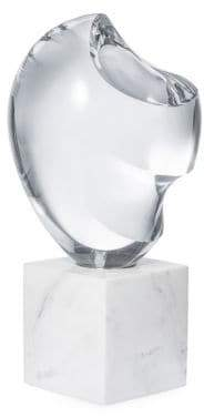 AERIN Marble and Crystal Maxime Object