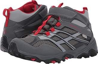 Merrell Kids' Moab FST Mid a/C Waterproof Sneaker