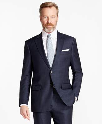 Brooks Brothers Madison Fit Saxxon Wool Plaid 1818 Suit