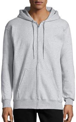 Hanes Mens Ultimate Cotton Long Sleeve Full-Zip Hoodie
