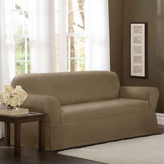 Maytex Mills Maytex Smart Cover Torie Medallion Stretch 1 Piece Sofa Furniture Cover Slipcover