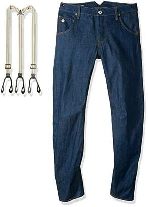 G Star G-Star Men's Arc 3D Tapered Tailored with Suspenders