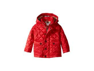 Burberry Quilted A-Line Jacket (Infant/Toddler)