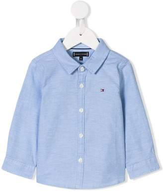 Tommy Hilfiger Junior plain button shirt