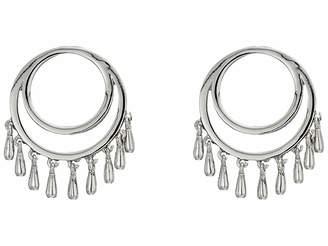 Rebecca Minkoff Front Facing Teardrop Circle Studs Earrings
