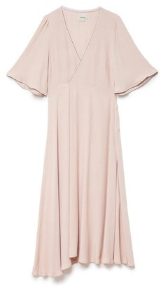 Ottod'ame Ottod'Ame - Da 3566 Wrap Dress - Rose / IT 42 - UK 10