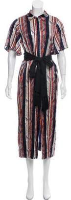 Cinq à Sept Silk Maxi Dress