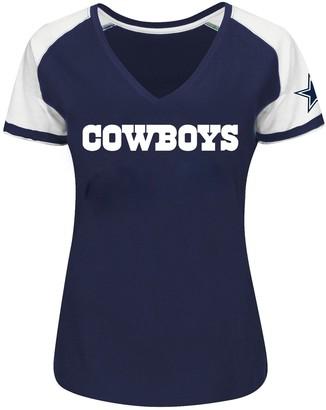 Unbranded Women's Plus Size NFL Dallas Cowboys Tee