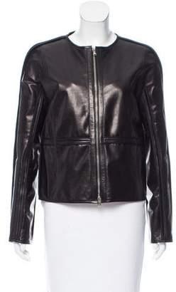 Reed Krakoff Cutout Leather Jacket