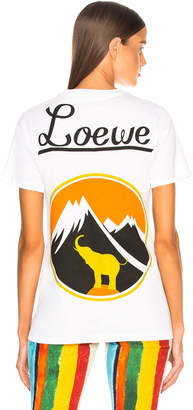 Loewe Mount & Elephant T Shirt