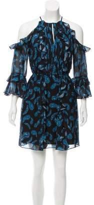 Rachel Zoe Vikki Silk Printed Dress w/ Tags