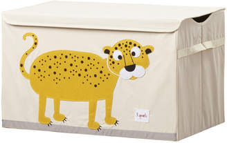 3 Sprouts Leopard Toy Box