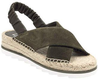 Marc Fisher Pella Suede Espadrille Sandals