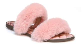 Sam Edelman Griselda Faux Fur Slide Sandal