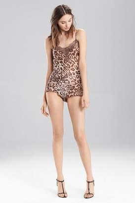 Josie Natori Shadow Leopard Romper
