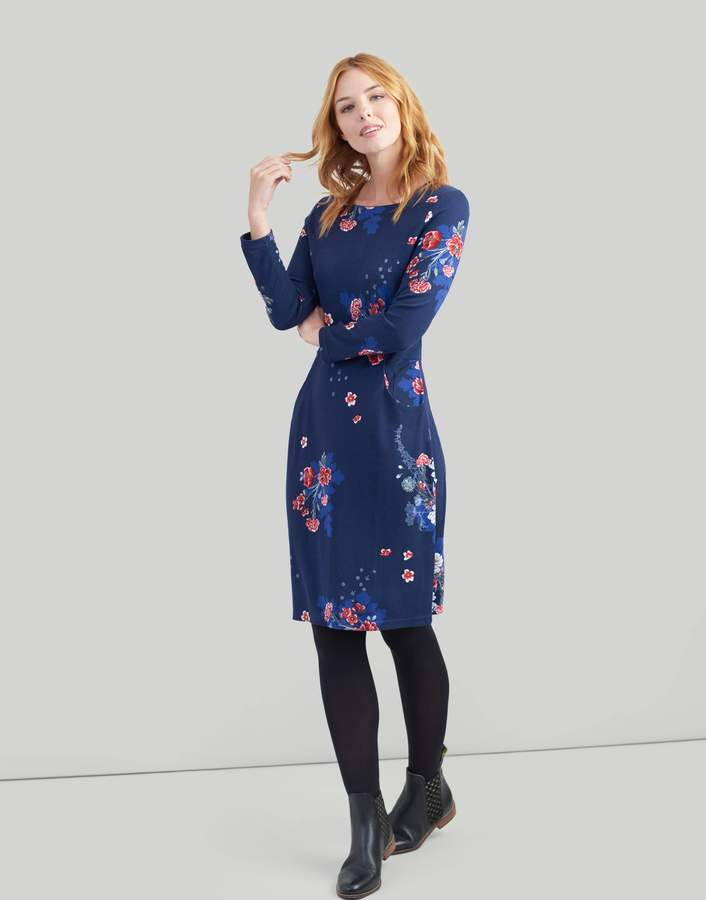 Clothing Yvonne Jersey dress with 3/4 sleeves