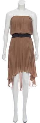 Haute Hippie Embellished High-Low Dress