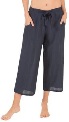 MIDNIGHT BAKERY Crop Pajama Pants