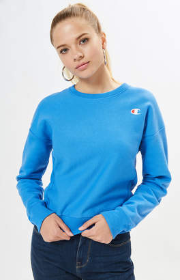 Champion Reverse Weave Logo Crew Neck Sweatshirt