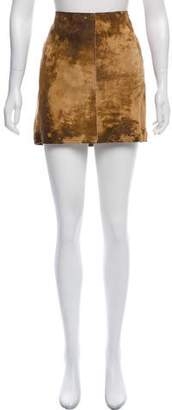 Graham & Spencer Leather Mini Skirt w/ Tags