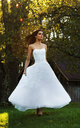 Isa Belle Isabelle Armstrong Cleo Tea Length Tulle Ball Gown