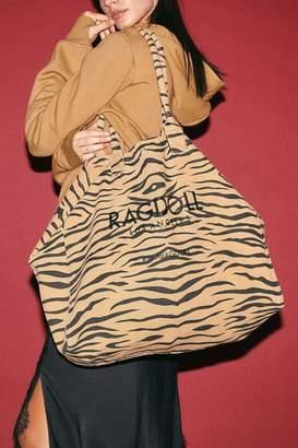 Rag Doll Ragdoll RAGDOLL HOLIDAY BAG Brown Zebra